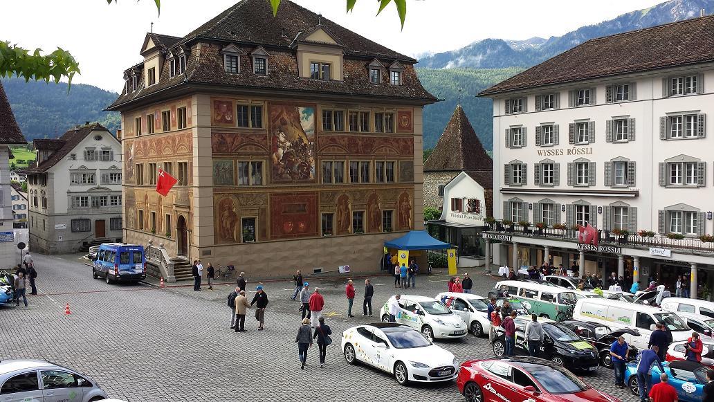 Schwyz Hauptplatz