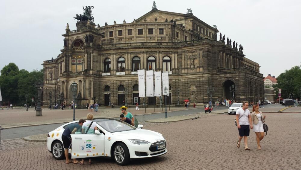 Dresden, bisschen Füsse vertreten