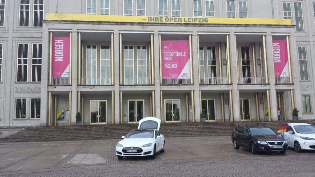 Und zum Abschluss in Leipzig