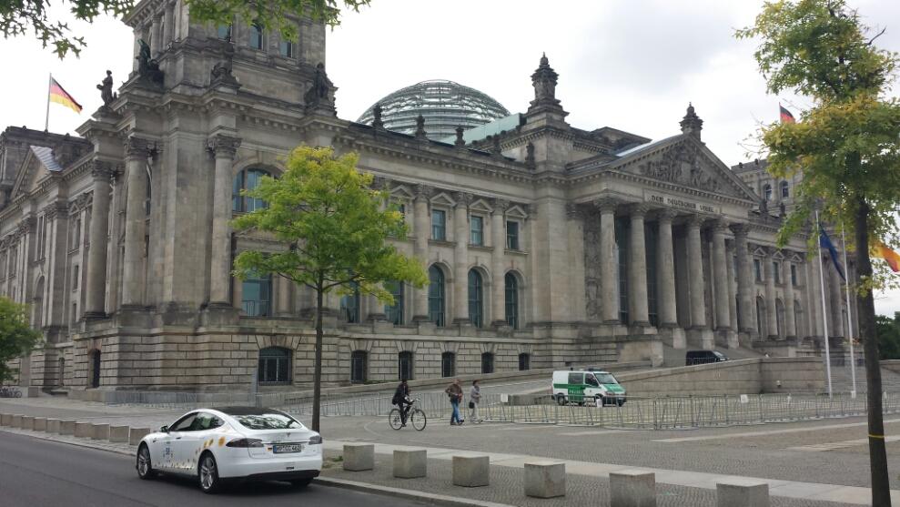 Berlin, Start der Königsetappe