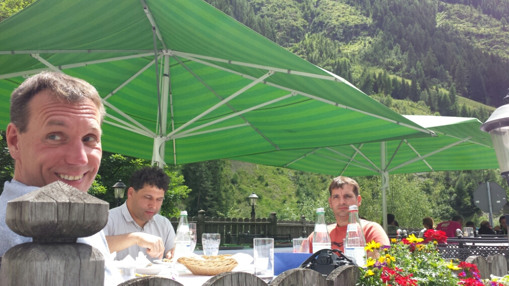 Alpenpässetag – Mittagspause
