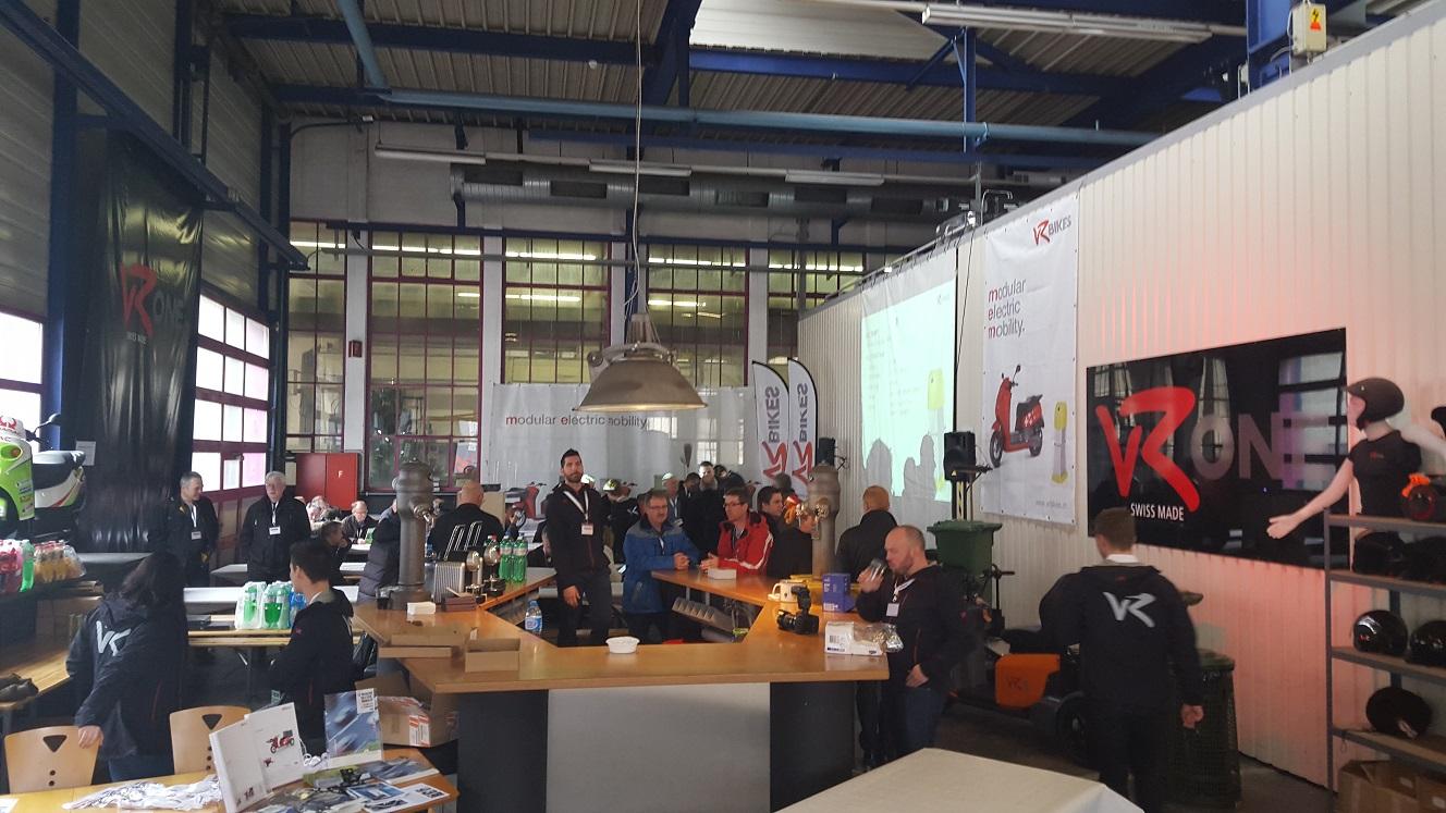 ELECTROMOTION DAY bei vRbikes in der Schweiz