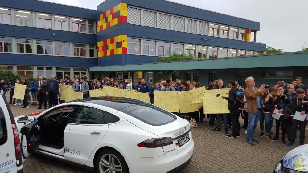 Schultag in Erkelenz