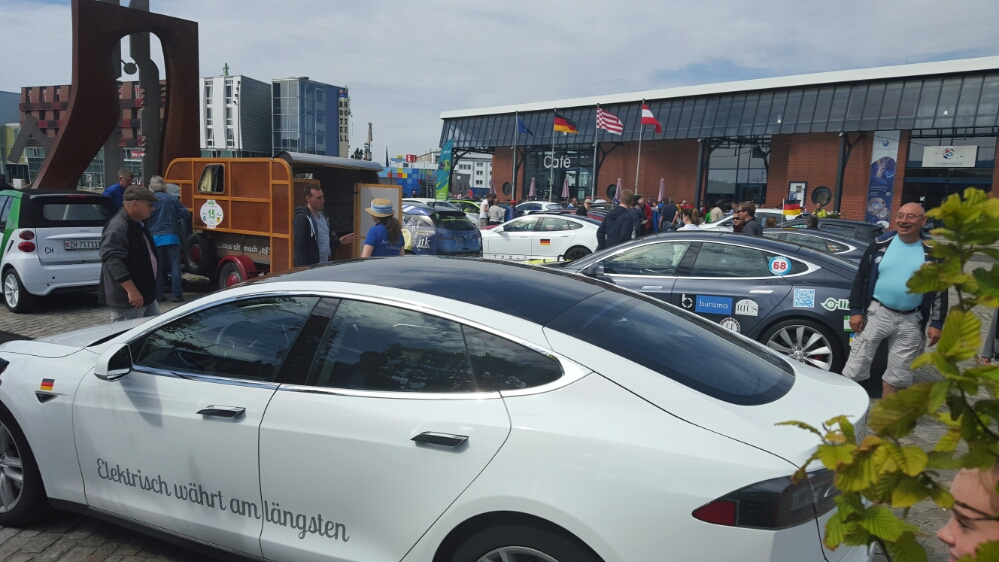 Ankunft in Bremerhaven